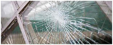 South Elmsall Smashed Glass